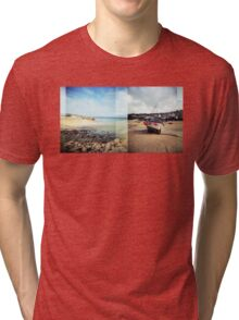 St Ives, Cornwall Tri-blend T-Shirt