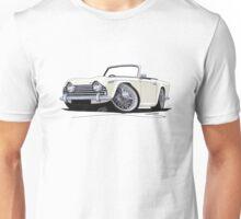 Triumph TR5 White Unisex T-Shirt