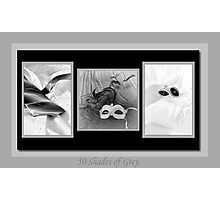 50 Shades Of Grey Photographic Print