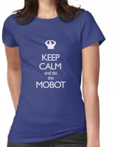 Mobot Mo Farah Womens Fitted T-Shirt