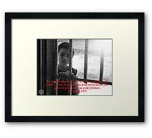 """Jeremiah 29:11""  by Carter L. Shepard Framed Print"