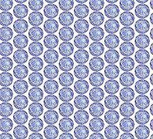3-D Blue by MarianaEwa