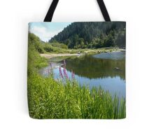 Perfect Day At The River Tote Bag