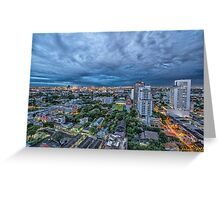 Bangkok. Greeting Card