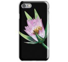 American Lotus Flower-Vector iPhone Case/Skin