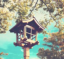 Japanese Lamp (Retro Vintage Photography) by Andreka