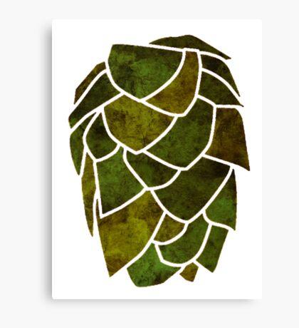 Hop Cone Canvas Print