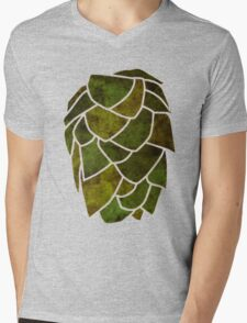 Hop Cone Mens V-Neck T-Shirt