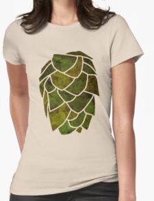 Hop Cone Womens Fitted T-Shirt