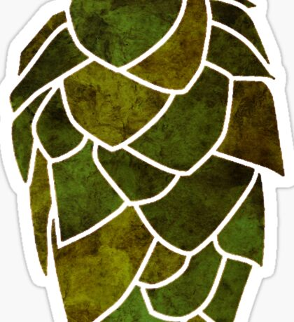 Hop Cone Sticker
