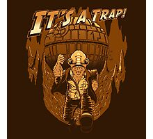 It's a trap! Photographic Print
