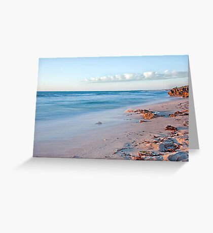 North Beach seascape Greeting Card