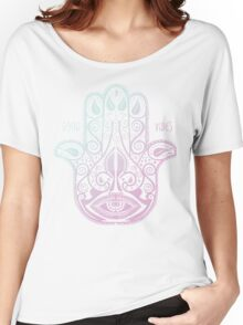 HAMSA PALM Women's Relaxed Fit T-Shirt