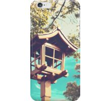 Japanese Lamp (Retro Vintage Photography) iPhone Case/Skin