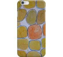 Cheerful orange Gathering iPhone Case/Skin