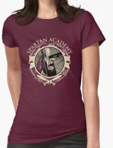Spartan Academy - Full Color Version Womens Fitted T-Shirt