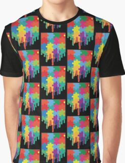 Pocket Puzzle Graphic T-Shirt