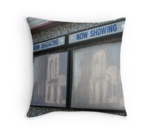 Now Showing! Cosham - the motion picture Throw Pillow