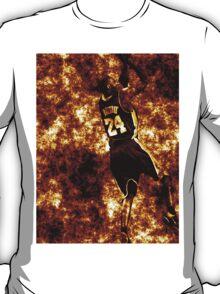 Kobe Bryant Fire Iphone Case T-Shirt