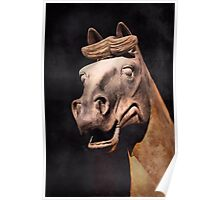 Terra Cotta Horse Poster