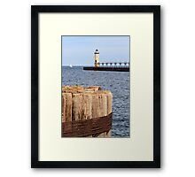 Manistee, Michigan Lighthouse Framed Print