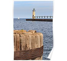 Manistee, Michigan Lighthouse Poster