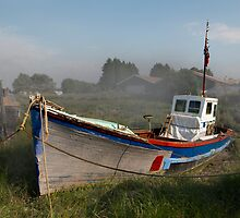 Old Boat at Battlesbridge by DonMc