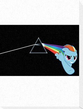 Pink Floyd Unicorn by sweetcherries