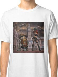 Steampunk Sci-Fi 2 Classic T-Shirt