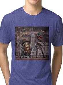 Steampunk Sci-Fi 2 Tri-blend T-Shirt