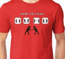 How to fuse dbz Unisex T-Shirt