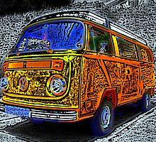 VW Camper by Anthony Palmer-Greene
