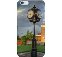 Town Clock iPhone Case/Skin