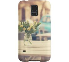 I'm gonna miss you a lot (Retro Pastel Coffee Shop in the Streets) Samsung Galaxy Case/Skin
