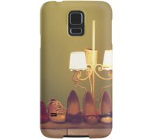 Dancing Shoes and Heels (retro and vintage girly shoes and heels with a lovely lamp) Samsung Galaxy Case/Skin