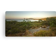 Wilson Inlet at sunrise Canvas Print