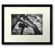 Tower Bridge Olympic Rings Framed Print