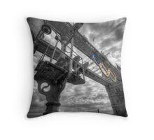 Tower Bridge Olympic Rings Throw Pillow
