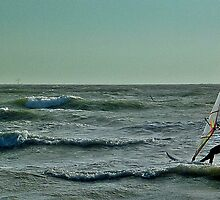 Lonely Windsurfer by skid