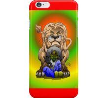 king and cub iPhone Case/Skin