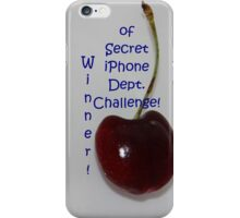 Banner - SID - Challenge Winner iPhone Case/Skin