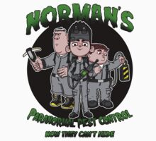 Norman's Paranormal pest control. One Piece - Long Sleeve
