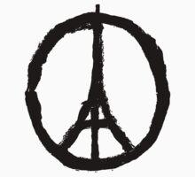 Paris Peace Sign by Thugstatus