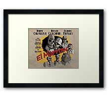 El Marrow. Framed Print