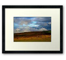 Ground Clouds Framed Print
