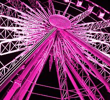Paris Wheel by Naked Sunday Photography & Design