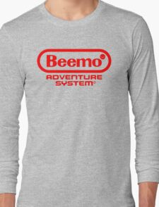 Beemo Adventure System (Red) Long Sleeve T-Shirt