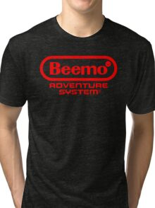 Beemo Adventure System (Red) Tri-blend T-Shirt