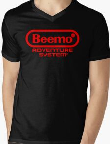 Beemo Adventure System (Red) Mens V-Neck T-Shirt