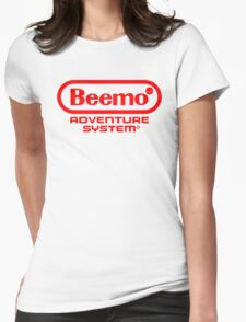 Beemo Adventure System (Red) Womens Fitted T-Shirt